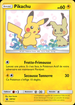 Pikachu Promo SM 162