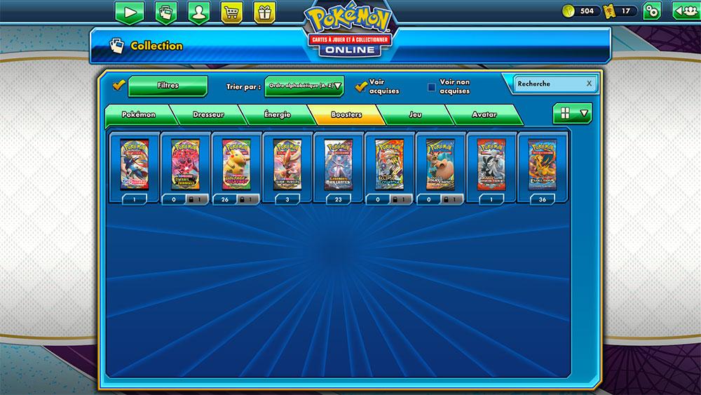 Récompenses Pokémon Online