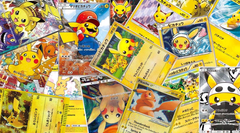 Top 10 des plus belles cartes Pikachu