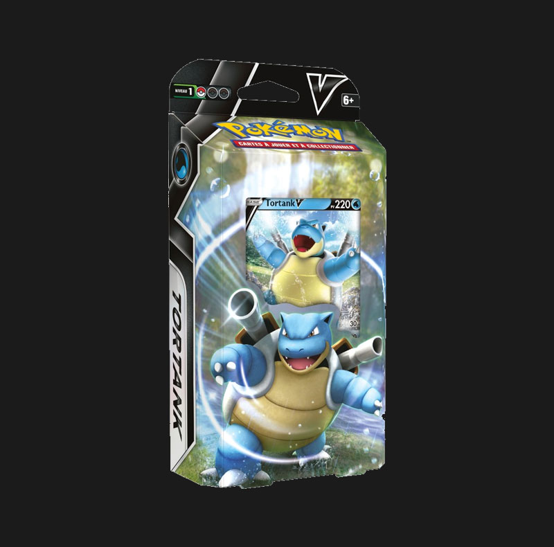 Deck Combat Tortank-V 60 cartes Pokémon