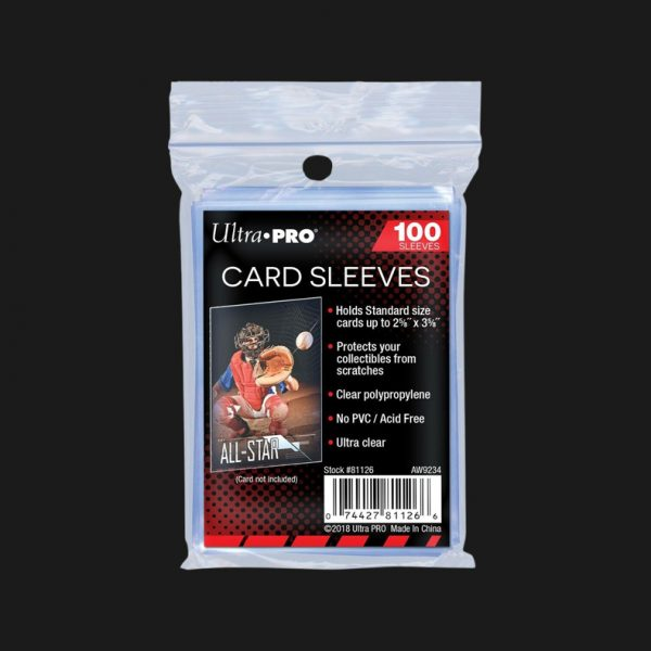 100 Sleeves Ultra Pro souples