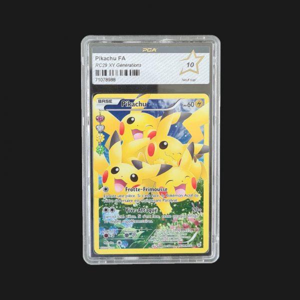 Pikachu FA RC29 XY Générations PCA 10