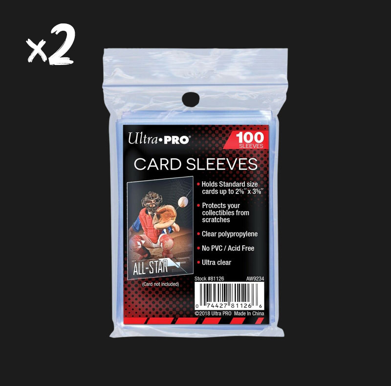 200 Sleeves Ultra Pro souples