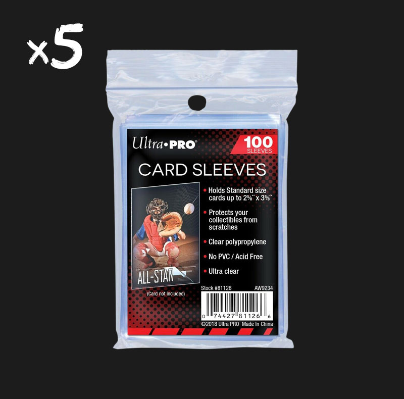 500 Sleeves Ultra Pro souples
