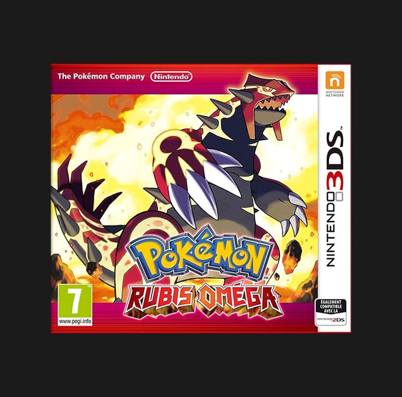 Jeu Pokémon Rubis Oméga 3DS